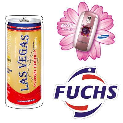 Aroma visačky jako reklamní předměty na zakázku