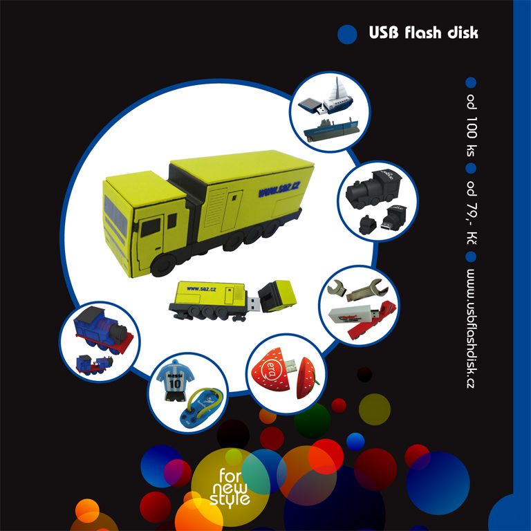 Zakázkové USB flash disky