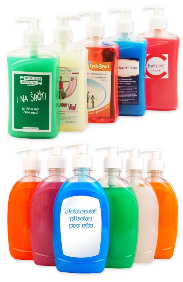Reklamní mýdla