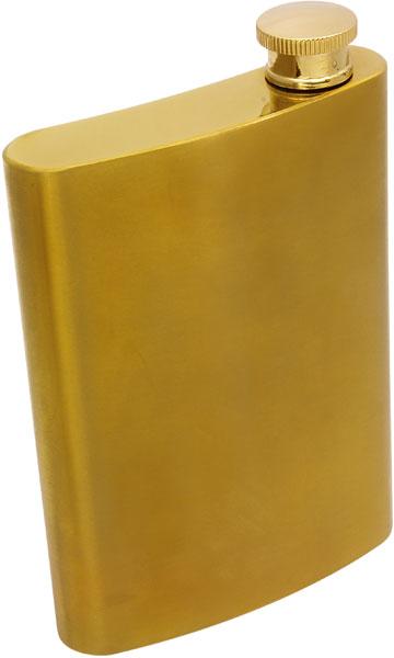 Zlatá butylka 240ml z nerez oceli