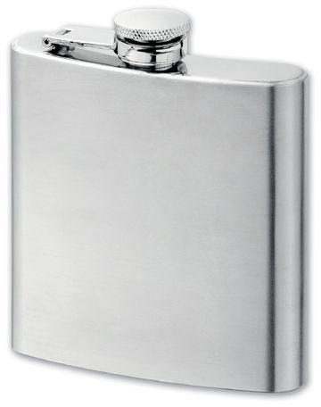 MUSE nerezová butylka, 180 ml, chrom