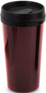 Kamal pohárek plastový červený s potiskem