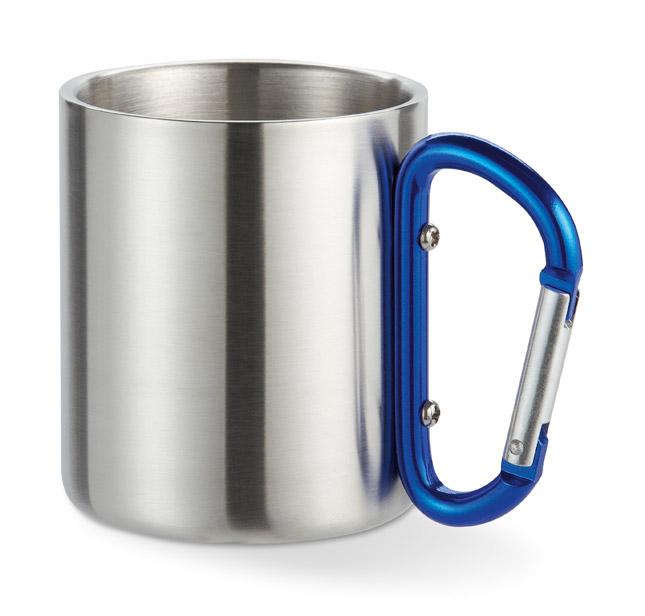 Dvouplášťový hrnek Trumbo modrý