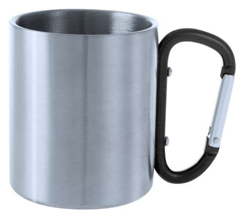 Bastic kovový hrnek černý