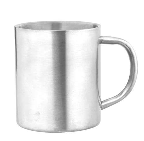 Yozax hrnek stříbrný