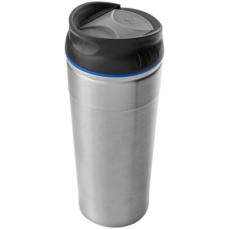 Kovový termohrnek modrý