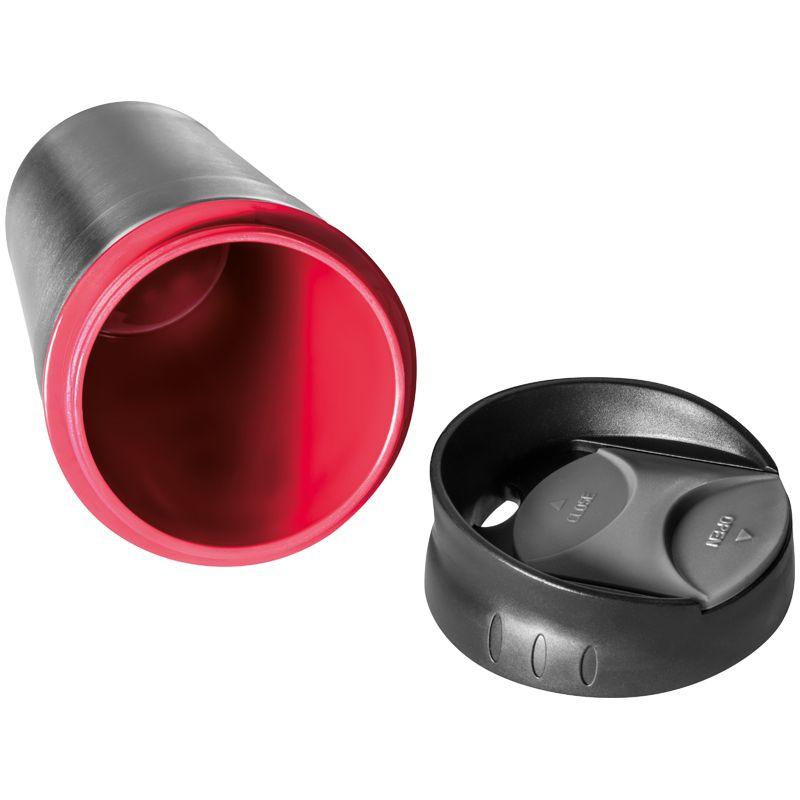 Kovový termohrnek červený