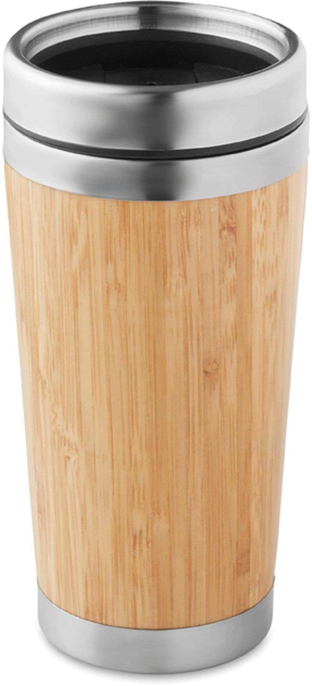 Dvoustěnný bambusový hrnek