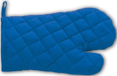 Modré kuchyňská rukavice