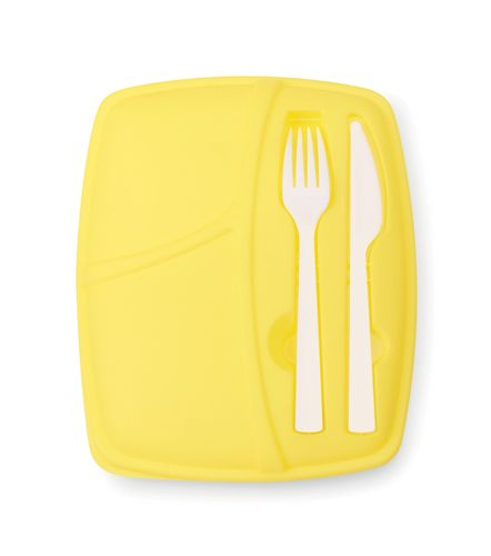 Krabička na jídlo žlutá