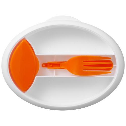 Oranžový obědáček Maalbox
