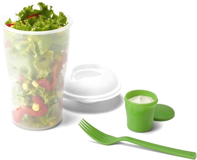 Zelený salátový šejkr Pau
