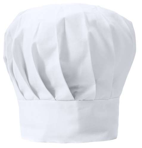 Nilson bílá kuchařská čepice