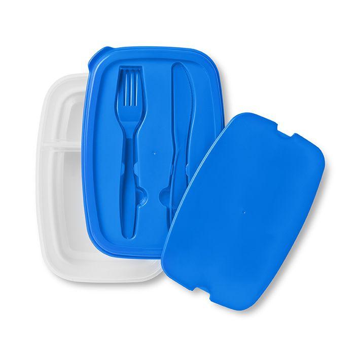 Obědový box modrý