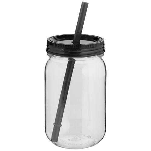 Černá zavařovací sklenice Binx mason