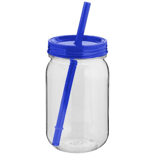 Modrá zavařovací sklenice Binx mason