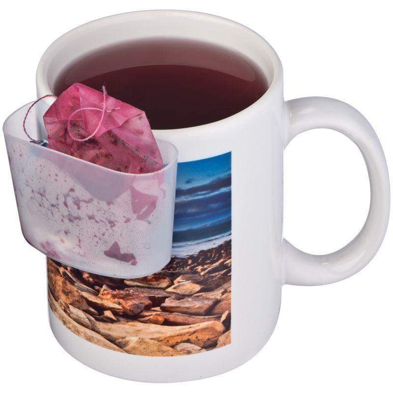 Držadlo na čajové sáčky, transparentní