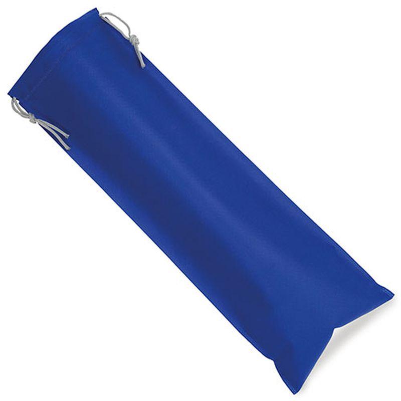 Netkaný sáček na pečivo modrý