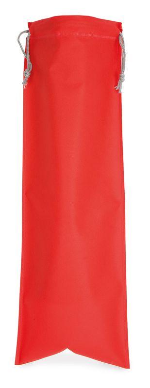 Netkaný sáček na pečivo červený