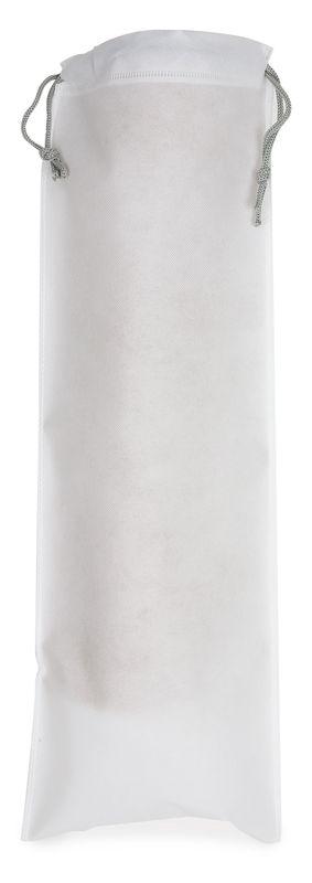 Netkaný sáček na pečivo bílý s potiskem