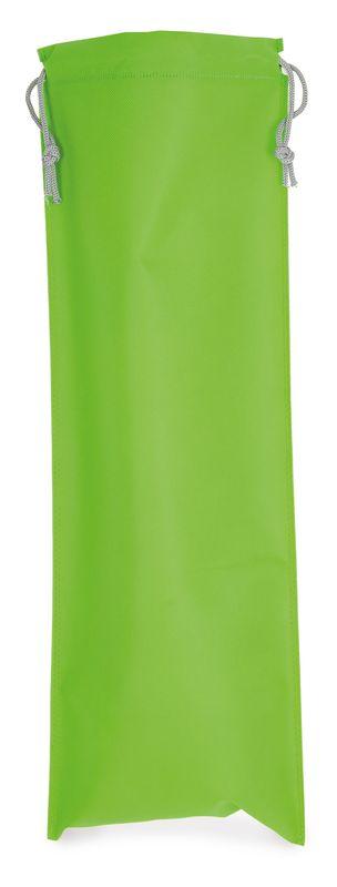 Netkaný sáček na pečivo světle zelený