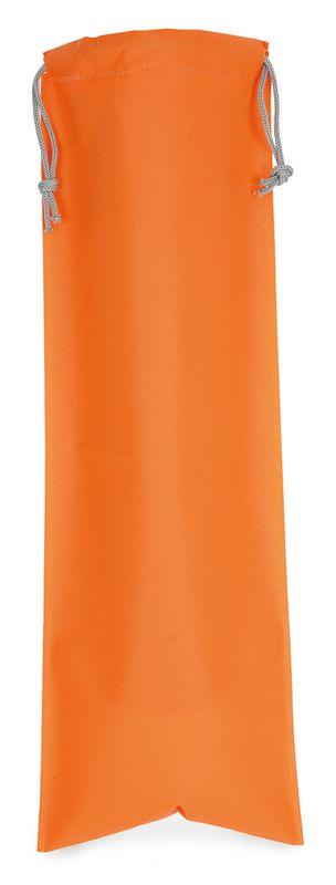 Netkaný sáček na pečivo oranžový