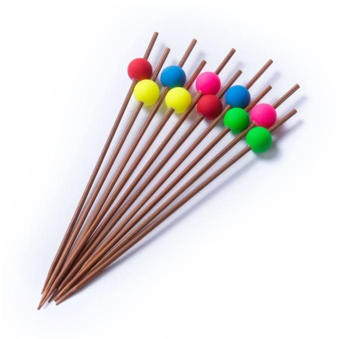 Brochet bambusové hůlky, 10 ks