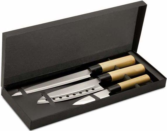 Set tří nožů