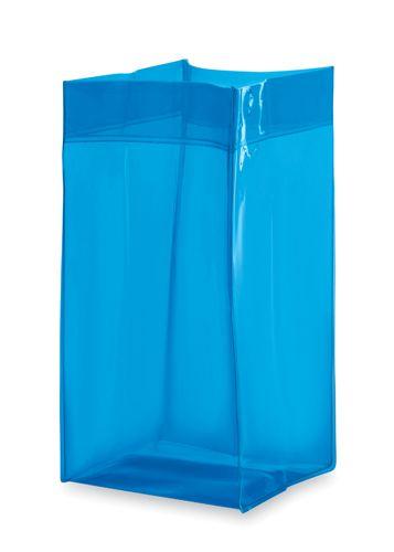 Modrý kbelík na led