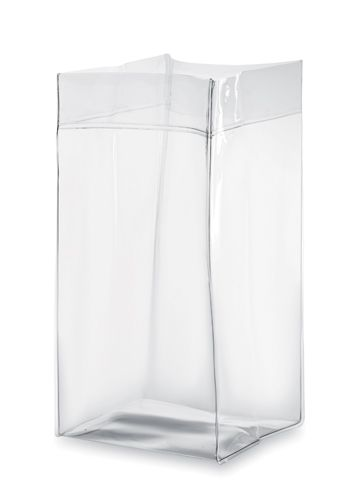 Bílý kbelík na led