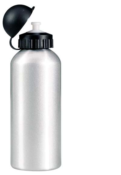 Velká hliníková láhev