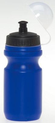 Modrá láhev na nápoj