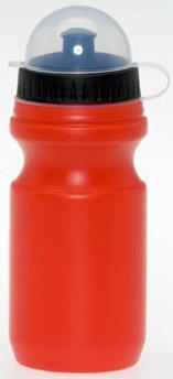 Červená láhev na nápoj