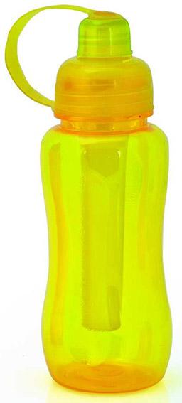 Bore žlutá sportovní láhev