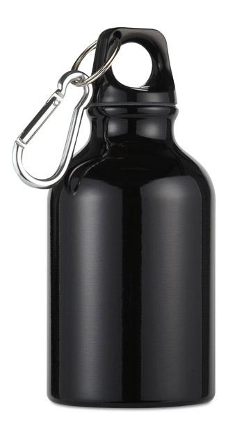 Hliníková láhev Moss černá