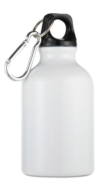 Hliníková láhev Moss bílá