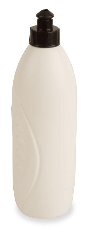 Anatomická láhev bílá s potiskem