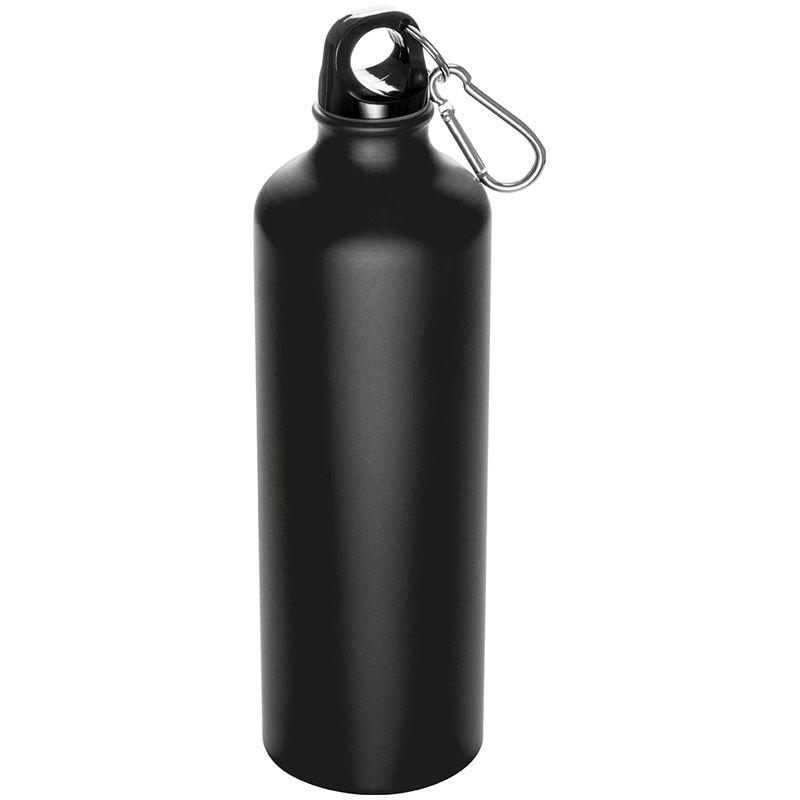 Velká kovová láhev černá