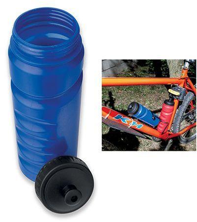 EVANS plastová láhev na kolo, 750 ml, tmavě modrá