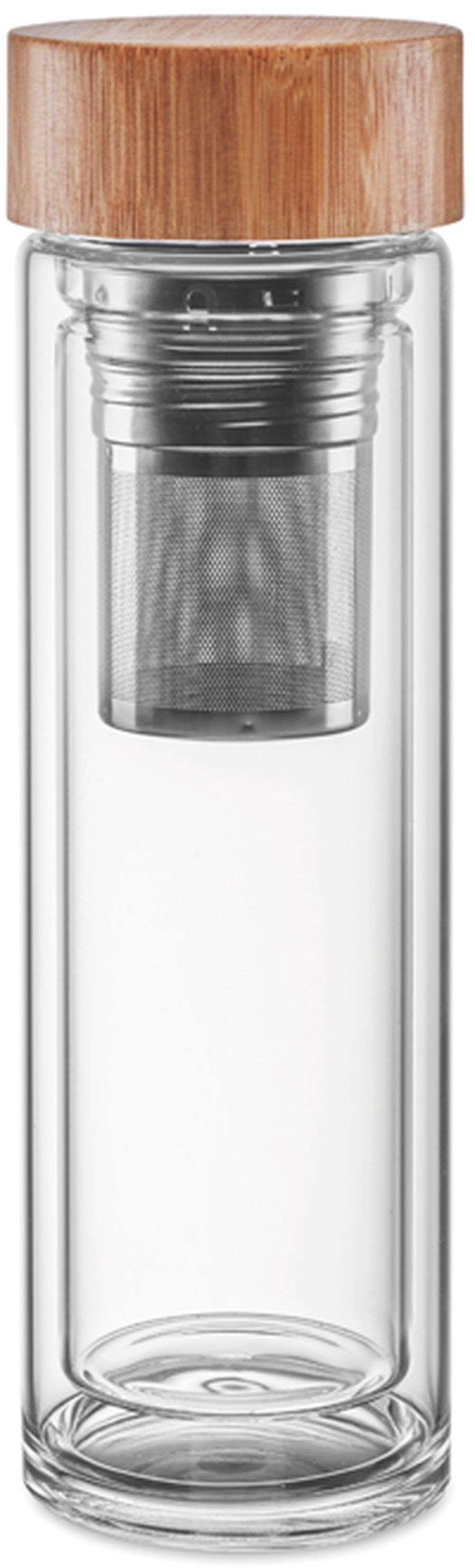 Dvoustěnná skleněná láhev