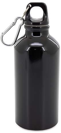 Hliníková uzavíratelná láhev, černá