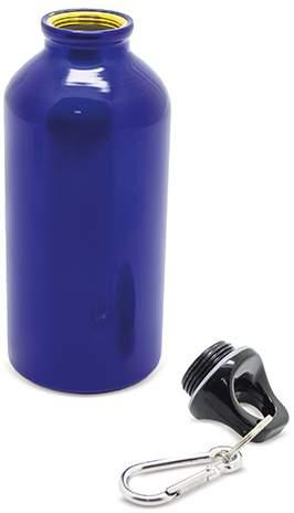 Hliníková uzavíratelná láhev, modrá