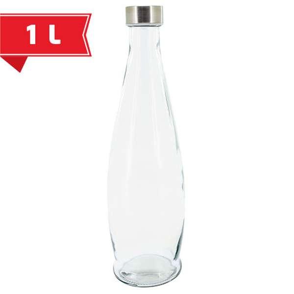 Skleněná láhev 1l