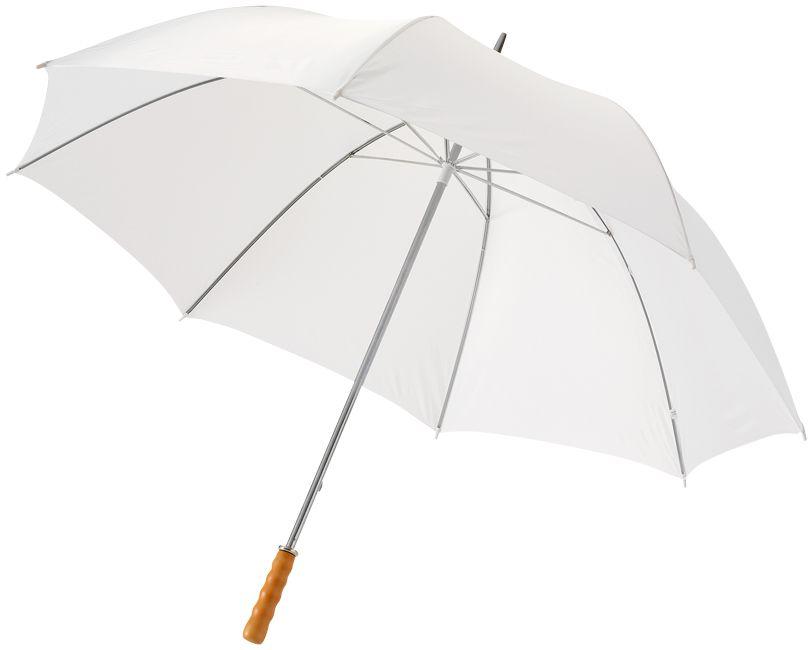 Bílý golfový deštník 30