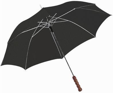 Automatický deštník, 23 palců černý
