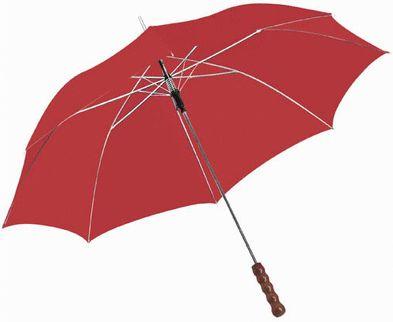 Automatický deštník, 23 palců červený