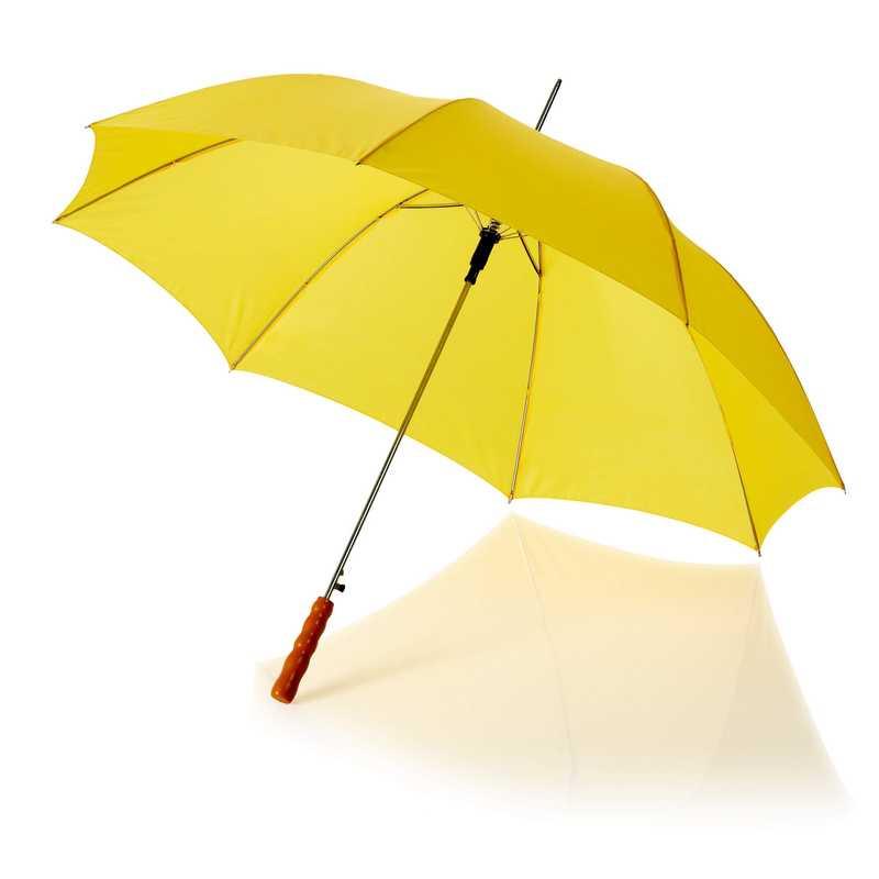 23palcový automatický deštník žlutý