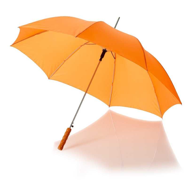 23palcový automatický deštník oranžový