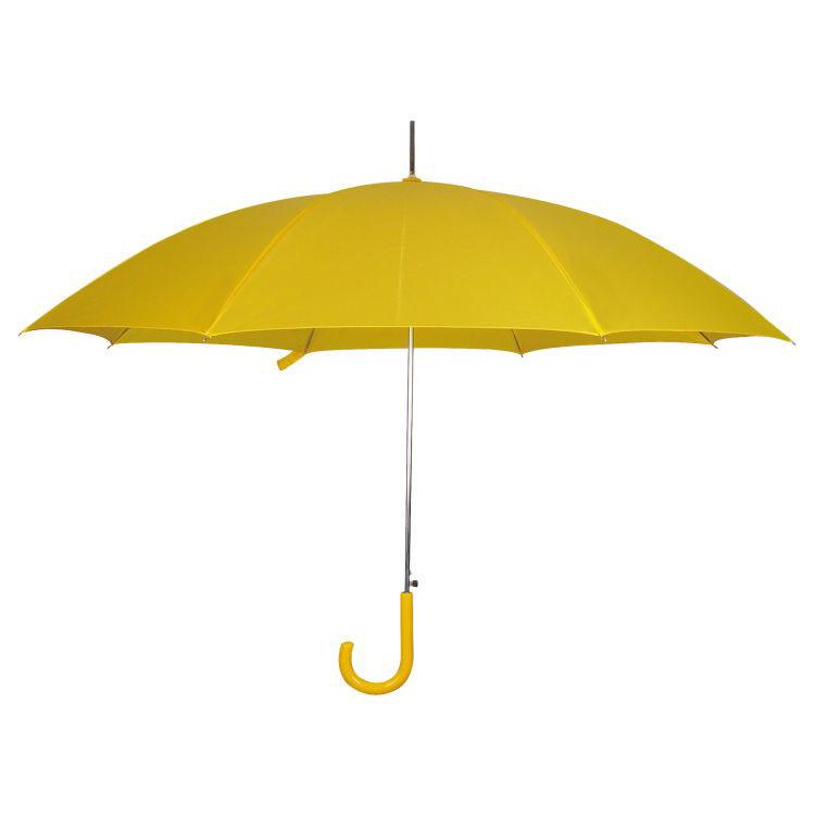 Automatický žlutý deštník