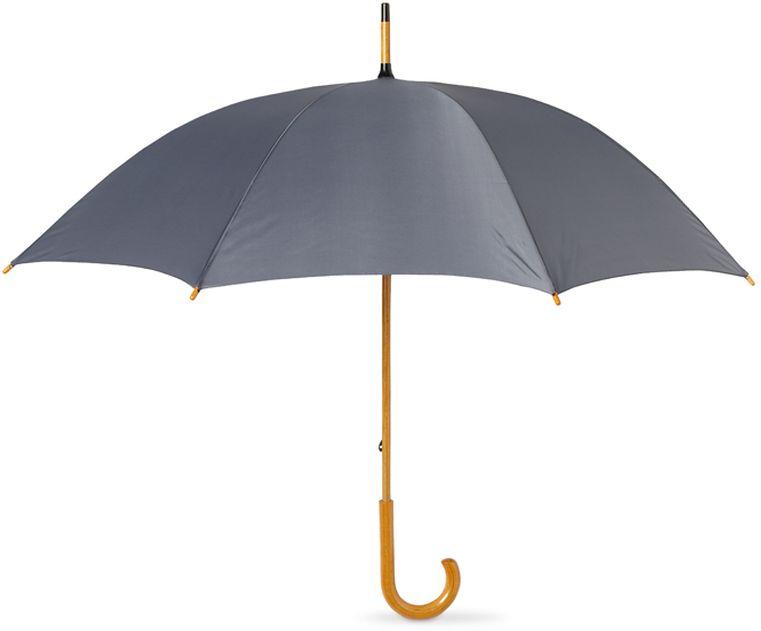 23palců klasický deštník Jova s dřevěnou tyčí a rukojetí